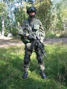 seragam militer