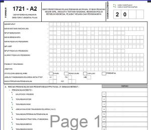 Formulir 1721 A2