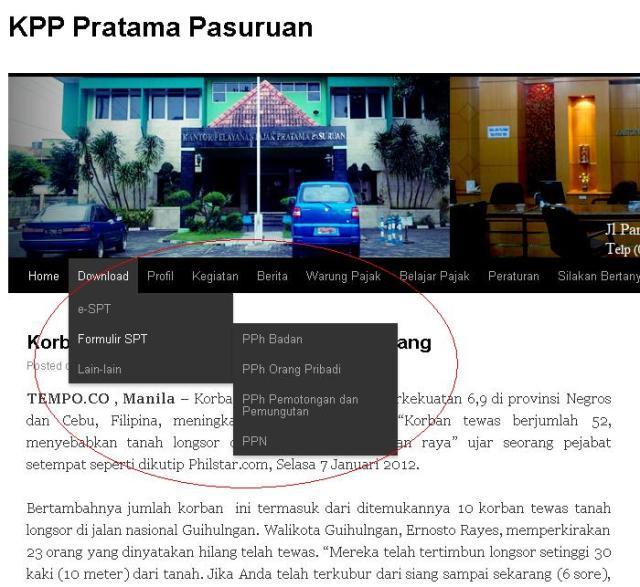 blog KPP Pratama Pasuruan