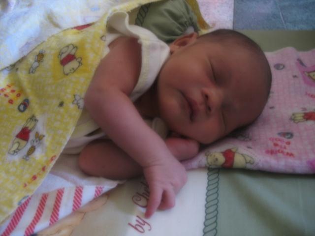Barra Faid Azizan masih bayi
